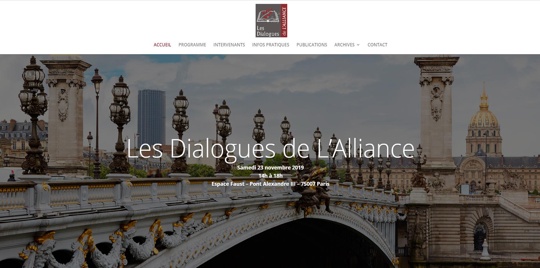 Les dialogues de l'alliance